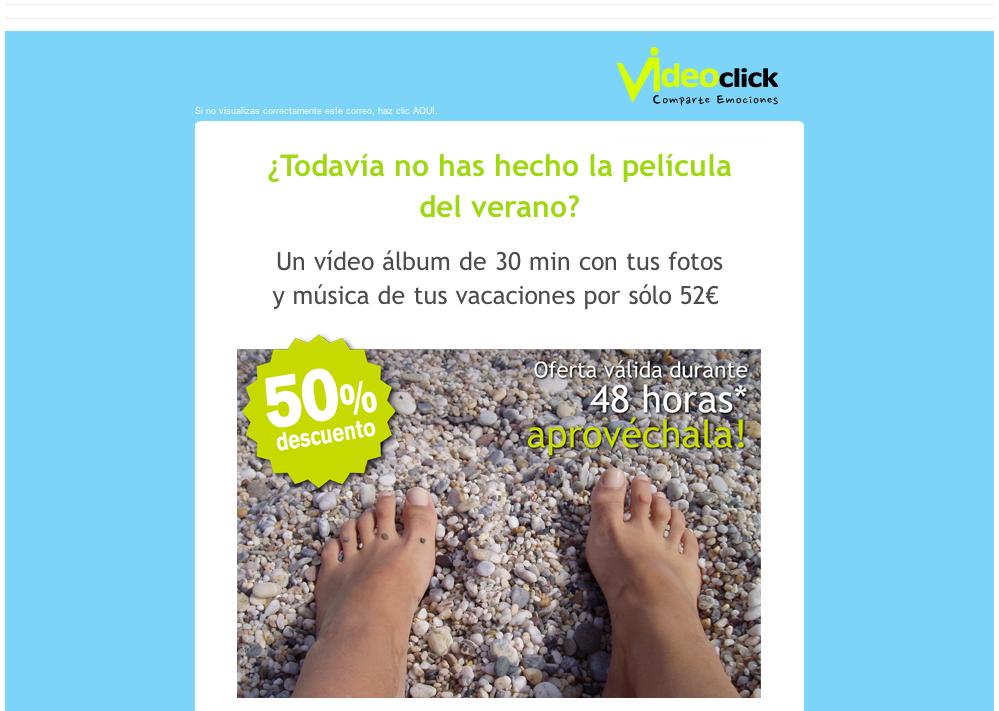 e-mail con descarga de imagenes
